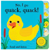 Quack Quack Sound Board Book