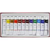 Acrylic Colour Paint - Set Of 12