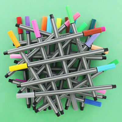 Scribblicious Fine Line Coloured Pens - Pack Of 30 image number 2