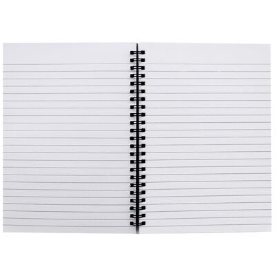 A5 Spiral Bound Lined Notebook image number 2
