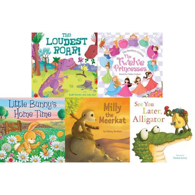 See You Later, Alligator: 10 Kids Picture Books Bundle image number 3
