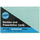 50 Revision and Presentation Cards - Multi Colour image number 1