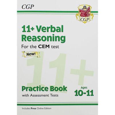 CGP 11+ Verbal Reasoning: Ages 10-11 Practice Book image number 1