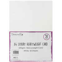 A4 Luxury Heavyweight Card - 50 Sheets