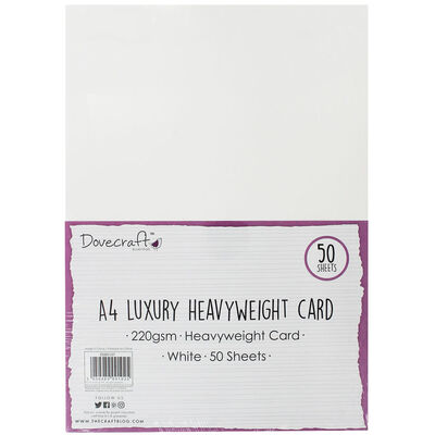 A4 Luxury Heavyweight Card - 50 Sheets image number 1