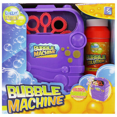 Bubble Machine With Bubble Solution image number 2