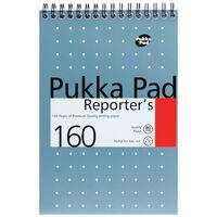 Metallic Pukka Reporter's Pad: 160 Pages