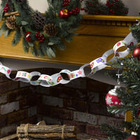 Christmas Colour-in Paper Chains Kit