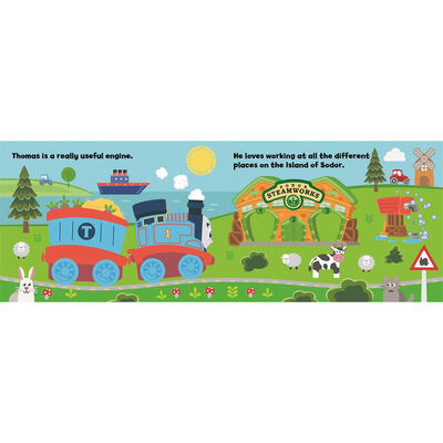 My First Thomas & Friends: Day On The Farm Book & Soft Toy image number 3