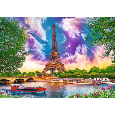 Sky Over Paris 600 Piece Jigsaw Puzzle image number 2