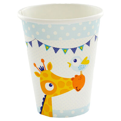 Blue Christening Day Paper Cups - 8 Pack image number 2