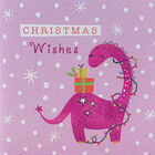 Dinosaur Christmas Cards: Pack Of 20 image number 5