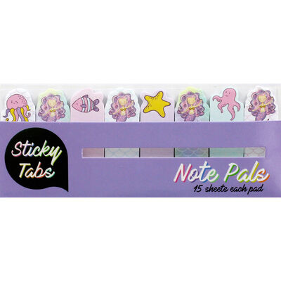 Mermaid Note Pals Sticky Tabs image number 1