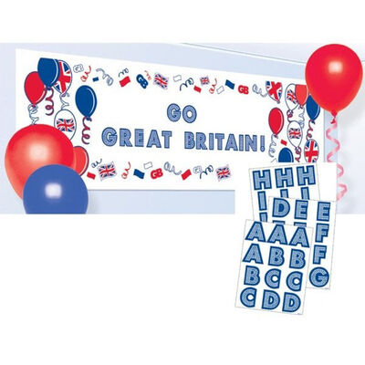 Great Britain Create Your Own Giant Sign Banner image number 2