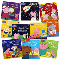 Peppa Pig Adventures: 10 Kids Picture Books Bundle