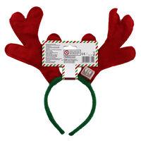 Flashing LED Reindeer Headband