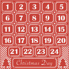 Advent Calendar Craft a Card Cutting Die image number 2