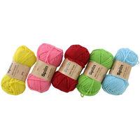 Spiin Premium Yarn Value Set: Pack of 12