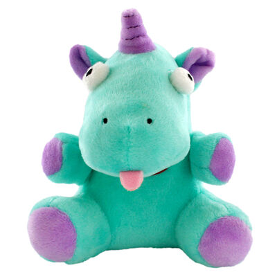Snuggly Green Unicorn with Magical Sound Effect image number 2