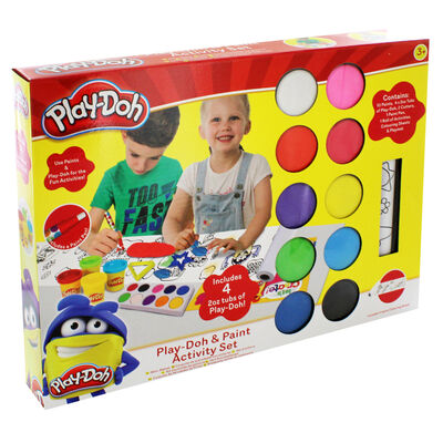 Play-Doh and Paint Activity Set image number 1