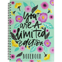 A4 Wiro Limited Edition Lined Notebook