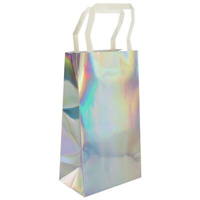 Iridescent Foil Party Bags - 5 Pack image number 3