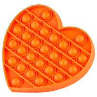 Pop 'N' Flip Bubble Popping Fidget Game: Assorted Heart