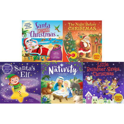 Rockin' Reindeer and Friends: 10 Kids Picture Books Bundle image number 2
