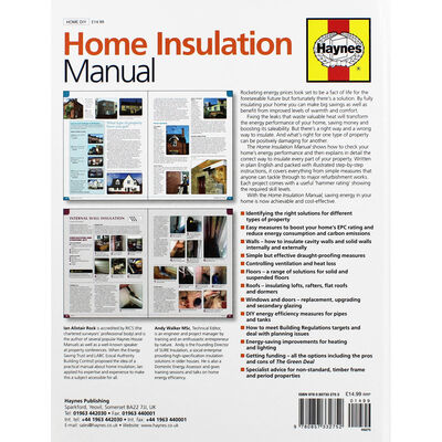 Haynes Home Insulation Manual image number 3