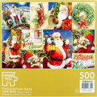 Postcards from Santa 500 Piece Jigsaw Puzzle image number 4