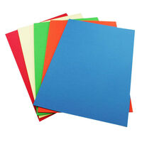 A4 Coloured Card - 20 Sheets