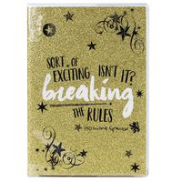 A5 Hermione Granger Breaking the Rules Notebook