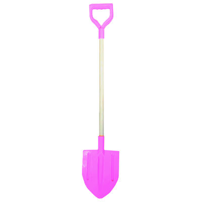 Plastic Spade with Wooden Handle - Assorted image number 1