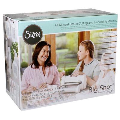 Sizzix Big Shot Plus Manual Die Cutting Machine image number 1