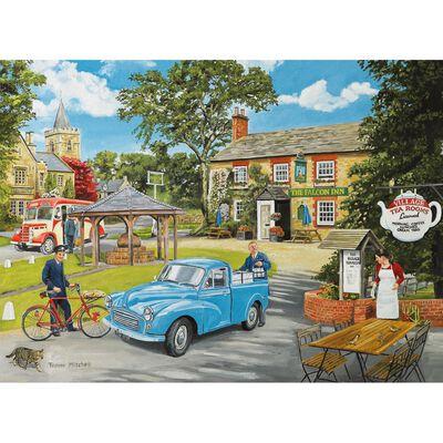 Village Tea Rooms 500 Piece Jigsaw Puzzle image number 2
