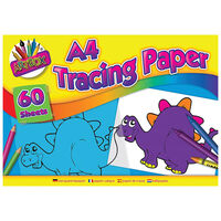 A4 Tracing Paper: 60 Sheets