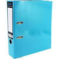Bright Blue A4 Lever Arch File