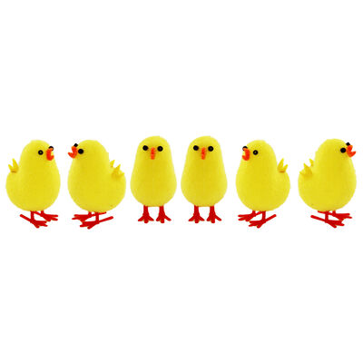 Yellow Easter Chicks - 6 Pack image number 2