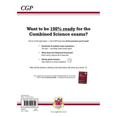 CGP GCSE Combined Science Grade 9-1: Exam Practice Workbook image number 3
