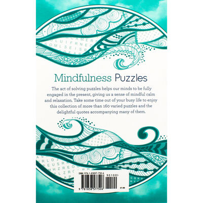Mindfulness Puzzles: Teal Book Collection image number 3