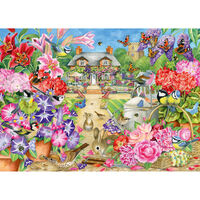 Floral Garden 1000 Piece Jigsaw Puzzle