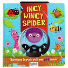 Incy Wincy Spider: Push, Pull and Pop Book image number 1