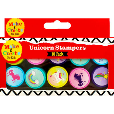 Unicorn Stampers - Pack of 10 image number 2