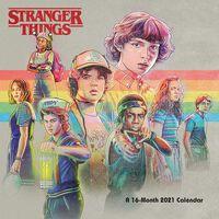 The Official Stranger Things 2021 Square Calendar