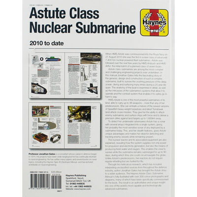 Haynes Astute Class Nuclear Submarine Manual image number 3