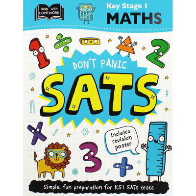 Don't Panic SATs: Key Stage 1 Maths image number 1