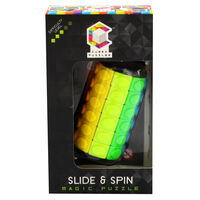 Slide and Spin Magic Puzzle - 6 Layers