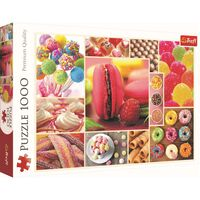 Candy Collage 1000 Piece Jigsaw Puzzle