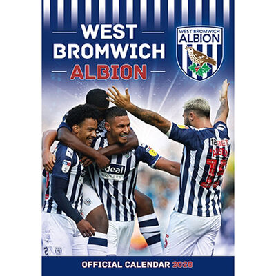 The Official West Bromwich Albion Calendar 2020 image number 1