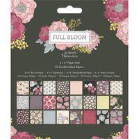 Full Bloom Paper Pad 6 x 6 Inch